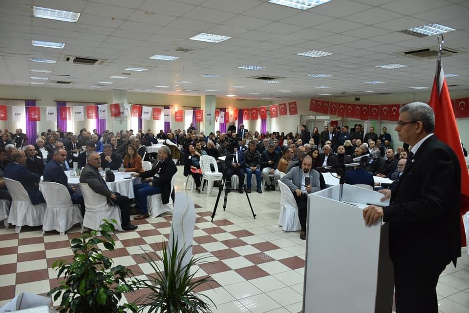 CHP Gemlik'te Cemil Acar yeniden başkan