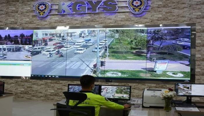 Adıyaman'da trafik ihlallerine kameralı tespit