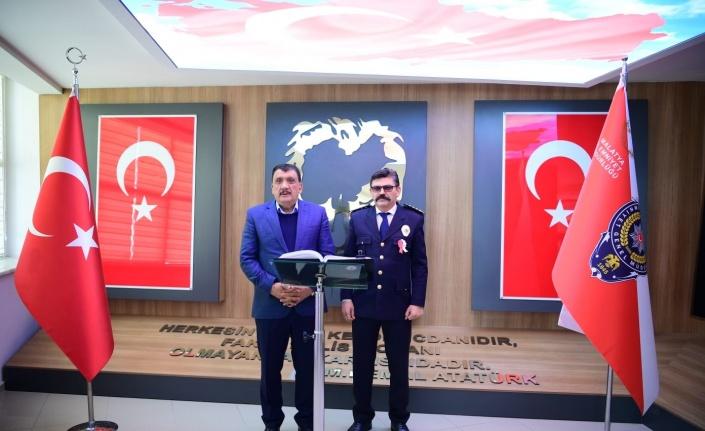 Başkan Gürkan'dan Malatya Emniyet'ine ziyaret