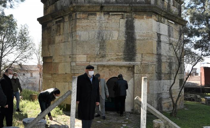 Denizli Buldan'da türbe ve yatırlara kapsamlı restorasyon