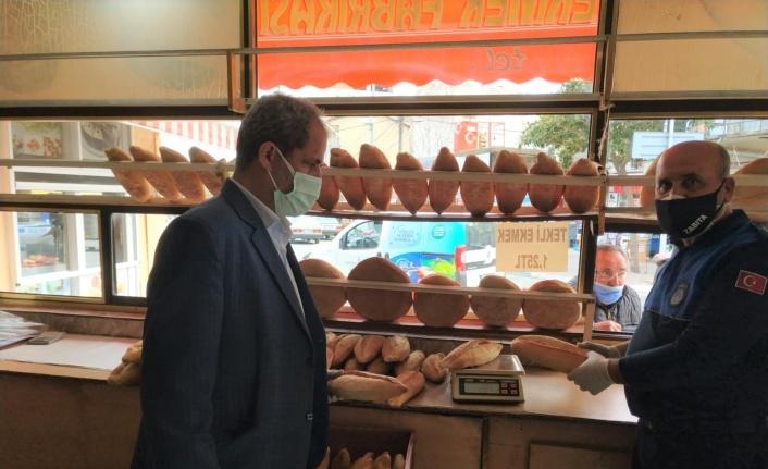 İzmir Bergama'da fırınlara Ramazan denetimi