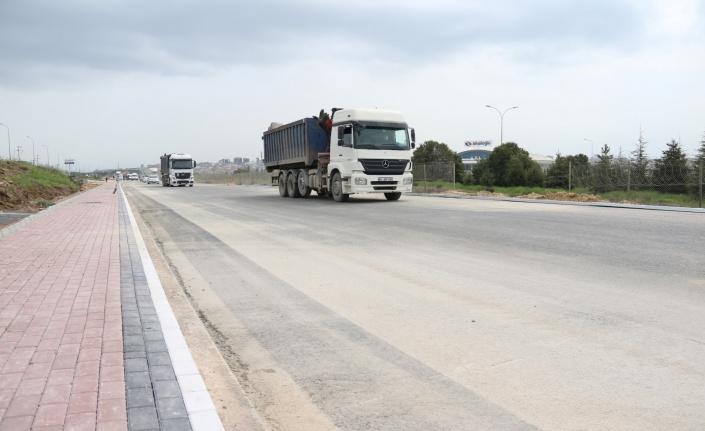 Kocaeli'de Gebze OSB'ye ulaşım rahatladı