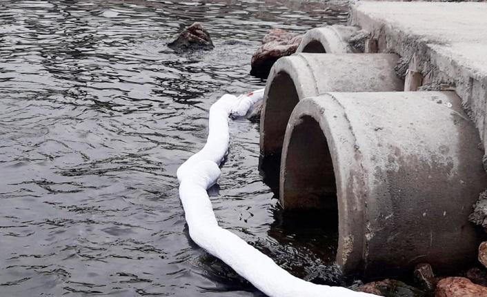 Kocaeli Plajyolu Sahili'ndeki kirliliğin sebebi tespit edildi