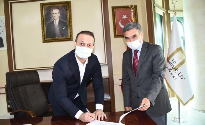 Mardin'de Kültür İnanç Parkı için aydınlatma protokolü