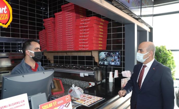 Mardin'de Vali Demirtaş'tan hem ziyaret, hem tedbir hatırlatması