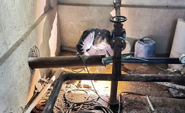 Muğla Datça'da enerji tasrruflu terfi merkezleri