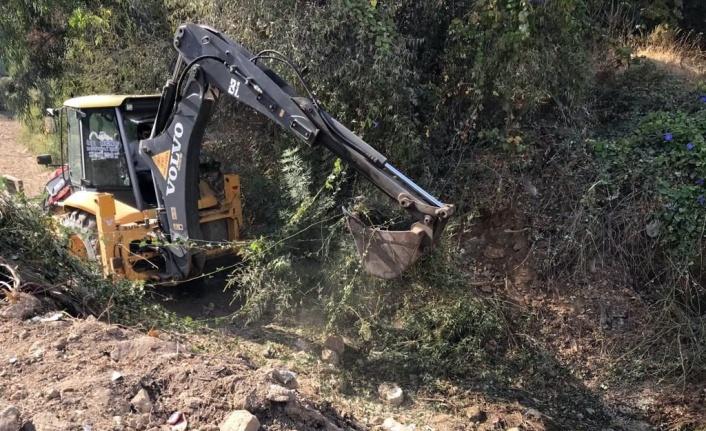 Muğla'da 800 bin metre dere temizliği yapıldı