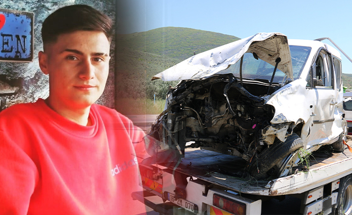 Ağır yaralanan genç sürücü hayatını kaybetti.!