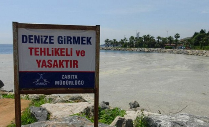Kocaeli Darıca'da denize girmek yasaklandı