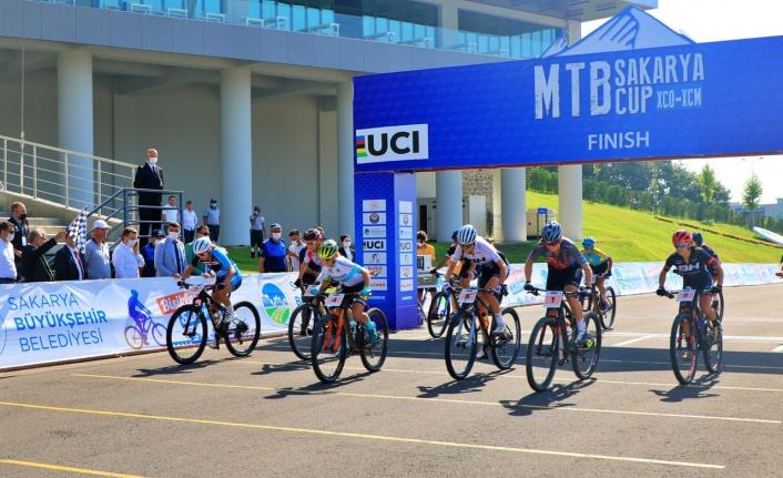 MTB Cup heyecanı Sakarya'da Ayçiçeği Bisiklet Vadisi'nde start aldı
