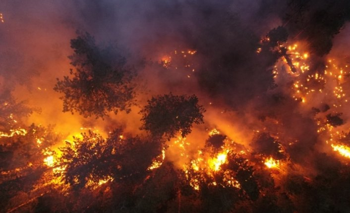 6 ilde 13 yangın devam ediyor!