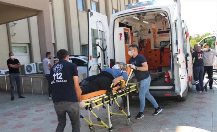 Adıyaman Kahta'da trafik kazası
