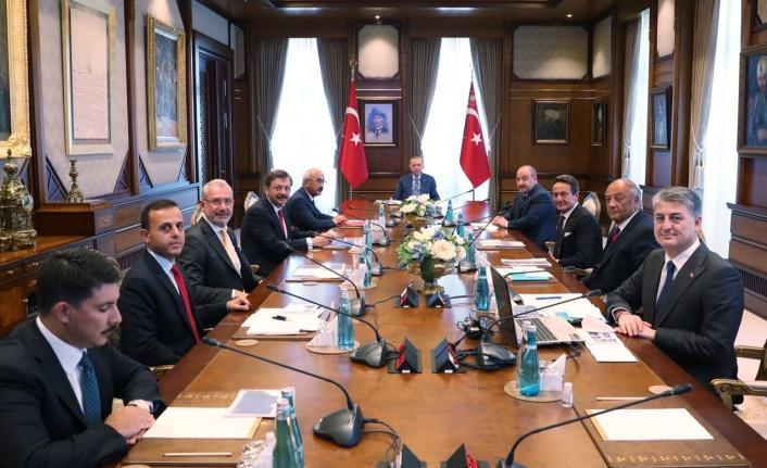 Erdoğan, TOGG üyelerini kabul etti