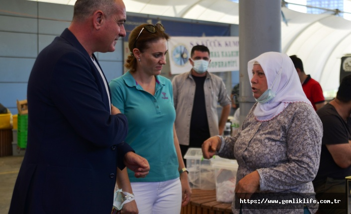 Gemlik Zeytini İstanbul pazarlarında