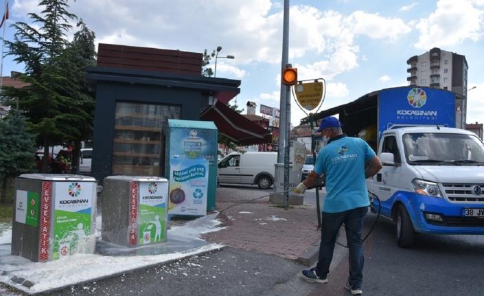 Kayseri Kocasinan Belediyesi'nden görsel zenginlik