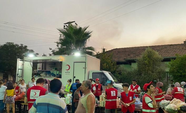 Türk Kızılayı Bursa'dan yangın teyakkuzu