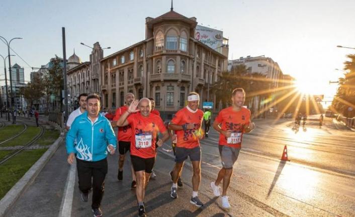 İzmir Maratonu'nda zafer Kenya ve Etiyopyalı atletlerin