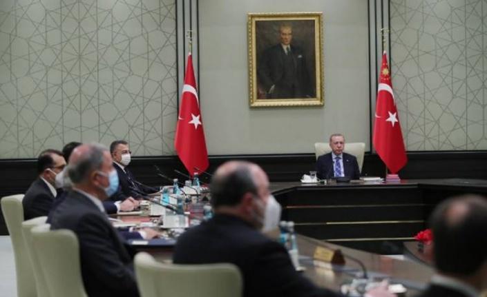 Kabine bugün Beştepe'de toplanıyor