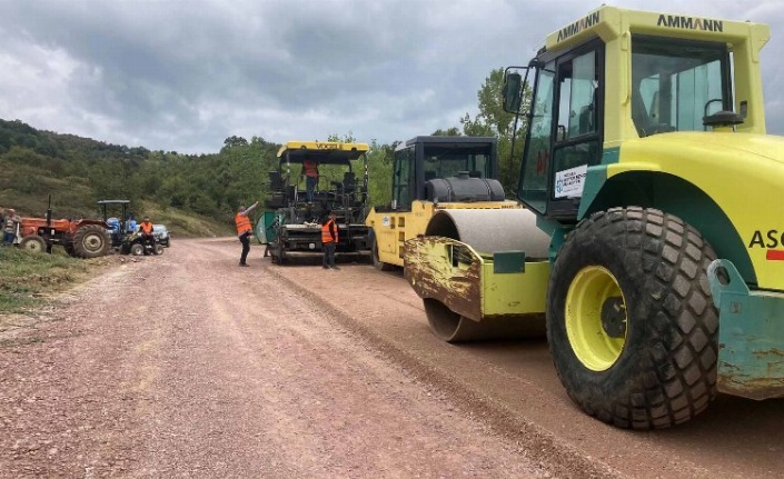 Kocaeli köy yollarını yeniliyor