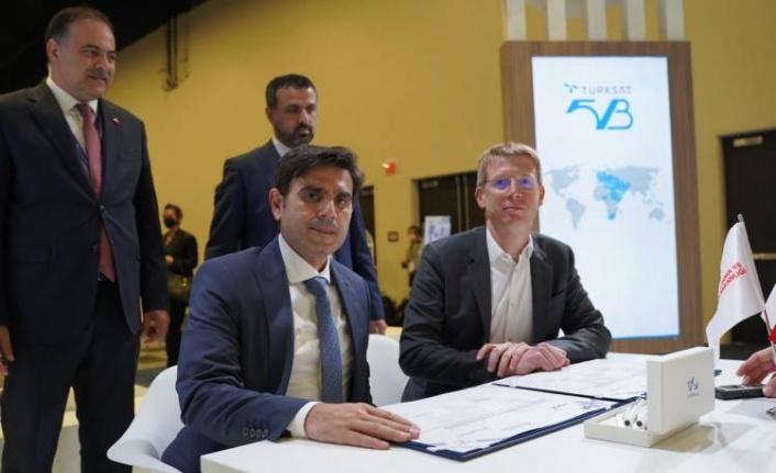Türksat 5B için uzay öncesi ilk anlaşma