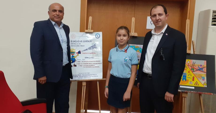 Ali Kütük Ortaokulu Öğrencisi Elçin'den Büyük Başarı