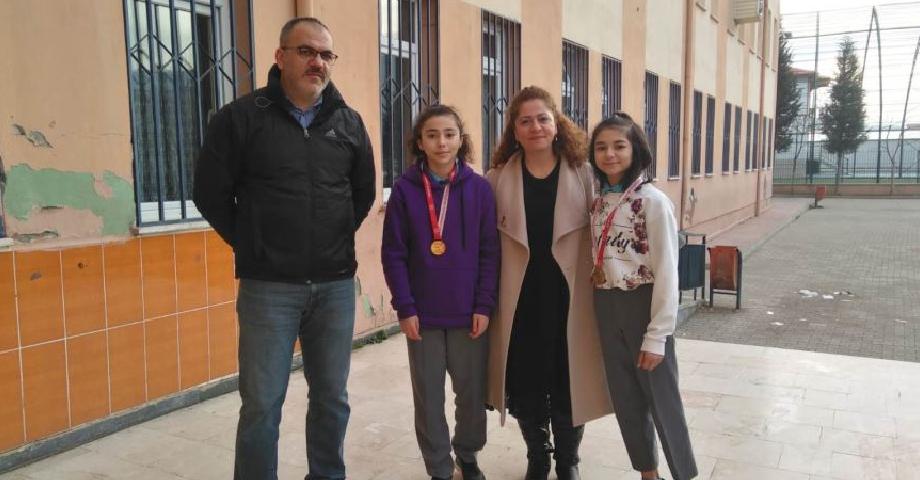 Çınar'lı Öğrenciler Antalya'da Yine Başarı Kazandı
