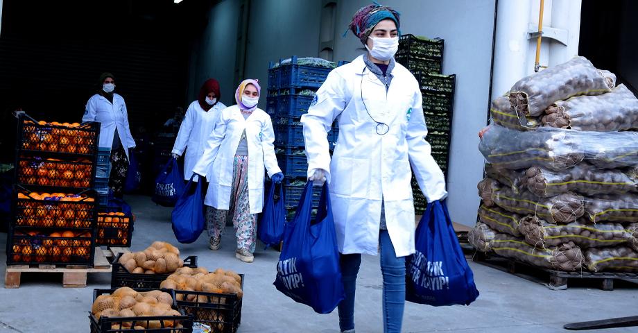 Bursa Büyükşehir Belediyesi, pazar ihtiyaçlarını da temin etmeye başladı