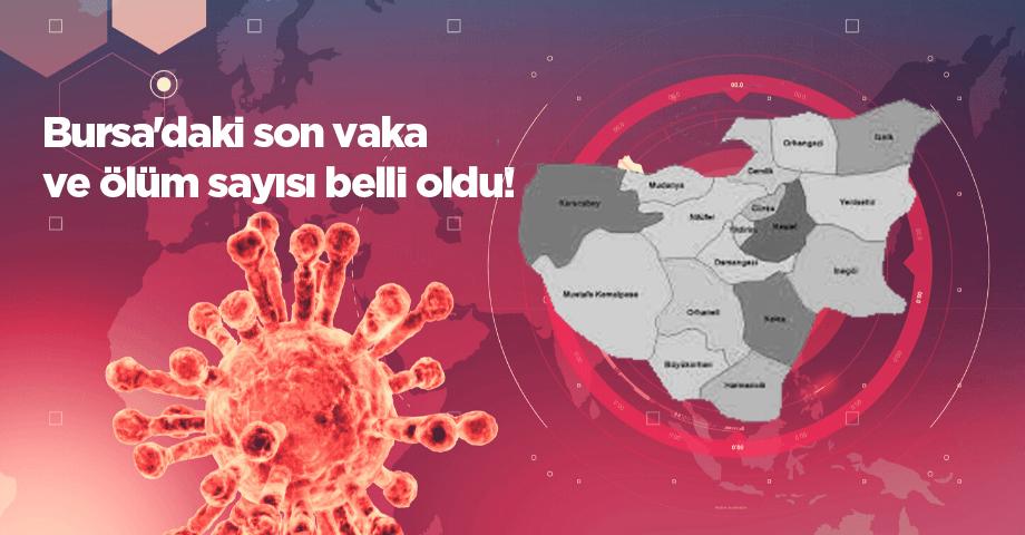 Bursa'daki son vaka ve ölüm sayısı belli oldu!