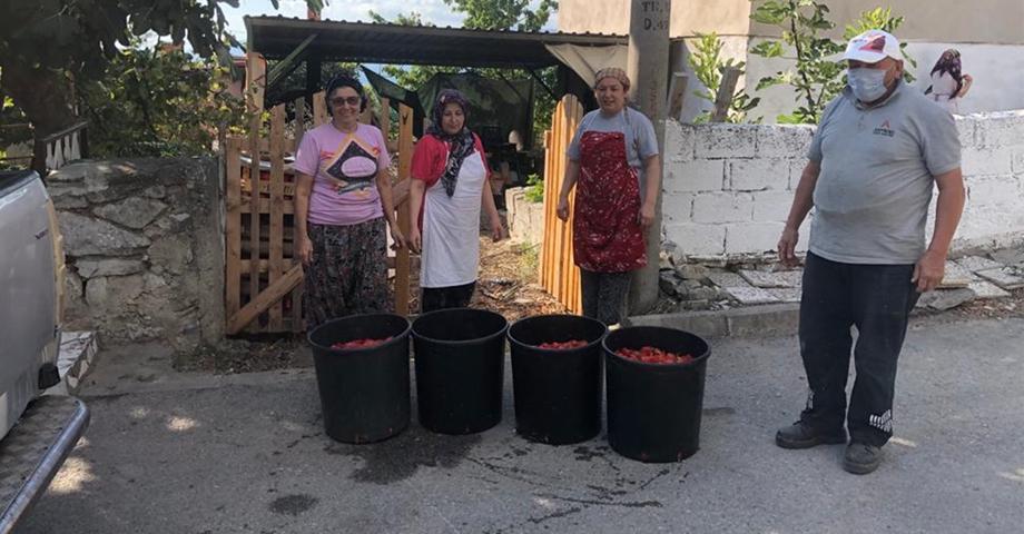Kadın girişimcilere kışlık ürün desteği