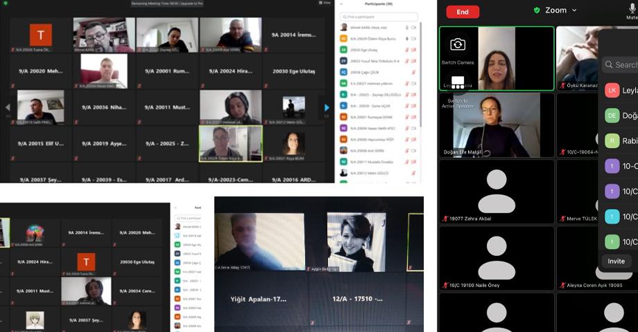 Gemlik Gemport Anadolu Lisesi'nde Online Veli Toplantısı