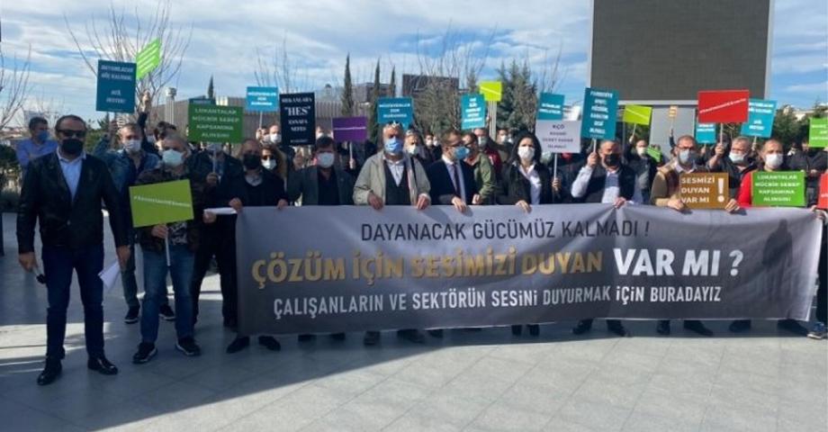 Bursa'da işletmeciler isyanda!