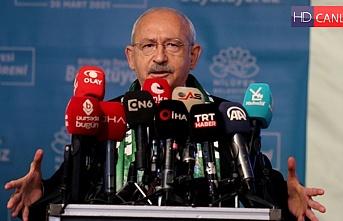 CHP Lideri Kılıçdaroğlu Gemlik'ten sesleniyor