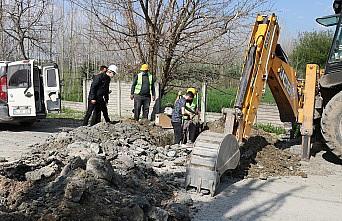Sakarya Ahmediye Mahallesi'nin içme suyu altyapısı güçleniyor