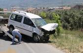 Gemlik'te feci kaza.! 17 yaşındaki sürücü ağır yaralı
