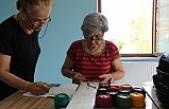 Gemlik'te Kadınlar 'EL ELE' becerilerini geliştiriyor