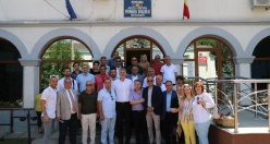 Gemlik'ten Romanya'ya dostluk ziyareti
