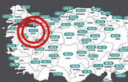 Bursa'nın haftalık vaka sayısında büyük...