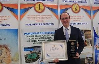 Akdeniz Belediyeler Birliği'nden Pamukkale'ye...