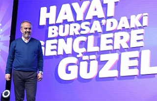 Bursa, genç fikirlerle geleceğe taşınıyor
