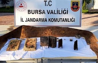 Bursa Mudanya'da 3 milyon lira değeri olan tarihi...