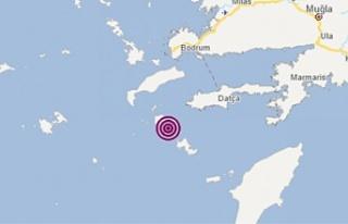 Datça açıklarında şiddetli deprem!