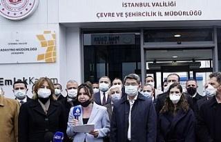 DEVA Partisi'nden Kanal İstanbul'a dilekçeli...