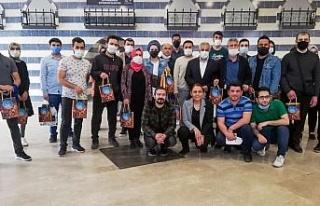 Diyarbakır'da sosyal yarışmaların kazananları...