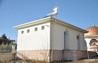 Gölbaşı'nda camilerin suyunu güneş enerjisi...