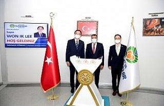 Güney Kore Büyükelçisi'nden Malatya ziyareti