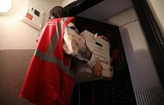 İzmit'ten ailelere ramazan desteği