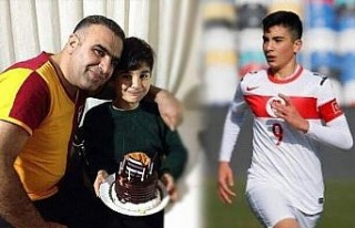 Kahraman şehit polis Fethi Sekin'in oğlu U16...