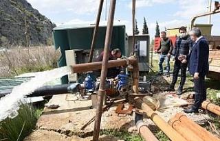 Manisa'da sondaj kuyularına yaz hazırlığı