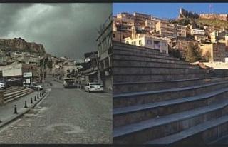 Mardin Cumhuriyet Meydanı'nın dokusu bozuldu