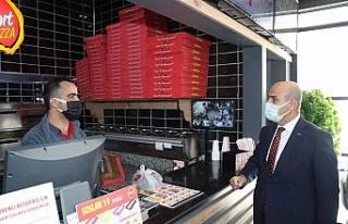Mardin'de Vali Demirtaş'tan hem ziyaret, hem...